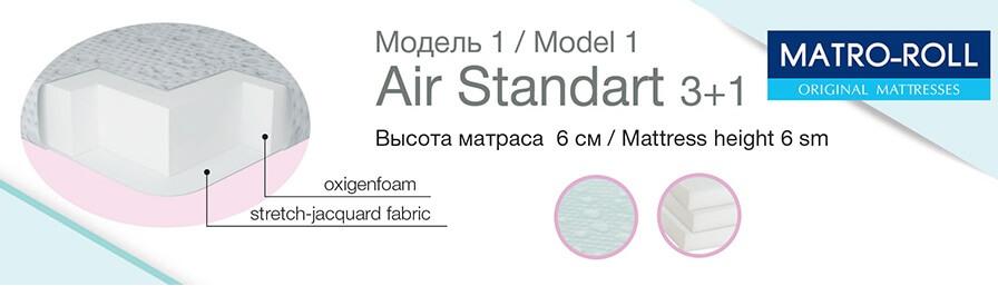 купить Топпер Matro-Roll Air Standart 3+1