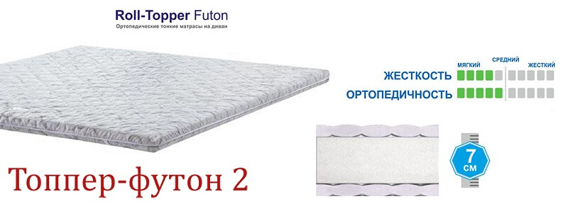 купить Топпер Matro-Roll Futon 2