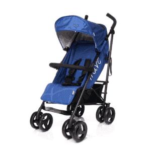 Прогулочная коляска 4Baby Wave (Blue)
