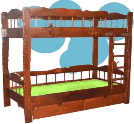 Двухъярусная кровать Сокира Старый корабль 90x190
