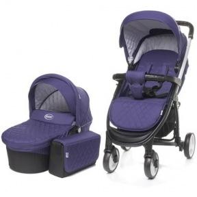 Универсальная коляска 2в1 4Baby Atomic 2017 (Purple)