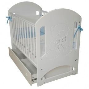 Детская кровать Верес Соня ЛД 8 - Мишка со стразами