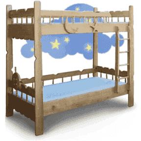 Двухъярусная кровать Врунгель 80x190